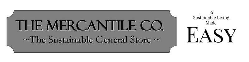 The Mercantile Co. ~ The Sustainable General Store logo
